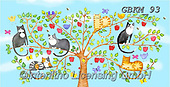 Kate, CUTE ANIMALS, LUSTIGE TIERE, ANIMALITOS DIVERTIDOS, paintings+++++Cats and dogs page 45,GBKM93,#ac#, EVERYDAY ,cat,cats