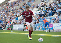 Joe Bunney of Northampton Town prepares to cross during Colchester United vs Northampton Town, Sky Bet EFL League 2 Football at the JobServe Community Stadium on 24th August 2019