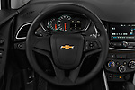 Car pictures of steering wheel view of a 2020 Chevrolet Trax LS 5 Door SUV
