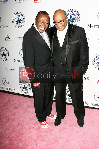 Ben Vereen and Quincy Jones<br /> at the 32nd Anniversary Carousel Of Hope Ball, Beverly Hilton Hotel, Beverly Hills, CA. 10-23-10<br /> David Edwards/Dailyceleb.com 818-249-4998
