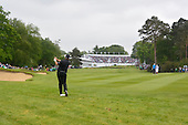 Shane LOWRY (IRL) on the 18th during the final round of the 2015 BMW PGA Championship over the West Course at Wentworth, Virgina Water, London. 24/05/2015<br /> Picture Fran Caffrey, www.golffile.ie