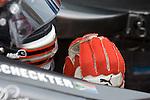 4 August 2007: Tomas Scheckter (ZAF) awaits his qualifying run at the Firestone Indy 400, Michigan International Speedway, Brooklyn, Michigan
