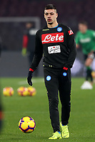Gianluca Gaetano Napoli<br /> Napoli 13-01-2019  Stadio San Paolo <br /> Football Italy Cup 2018/2019, round of 16<br /> Napoli - Sassuolo<br /> Foto Cesare Purini / Insidefoto