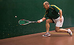 Vaman Apte of India and Geoff Chandler South Africa in action at the center court during the World Masters Squash Championships 2014 on 06 July 2014 at the Hong Kong Squash Centre in Hong Kong, China. Photo by Victor Fraile / Power Sport Images
