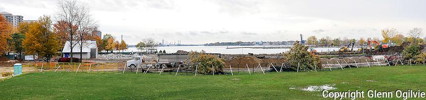 Centennial Park remediation work