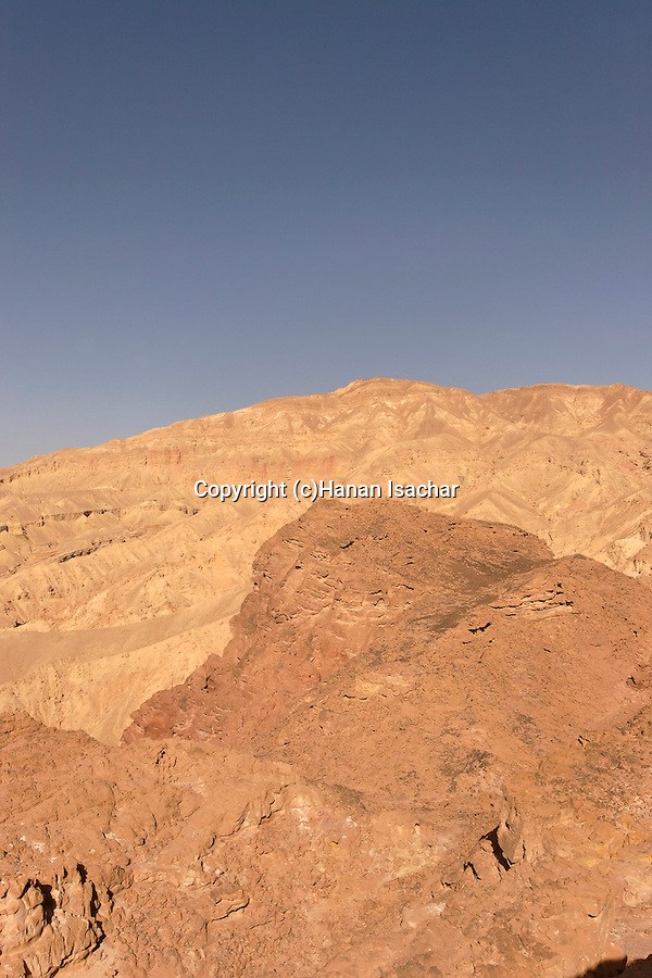 Israel, Negev. Mount Amir in Eilat Mountains