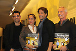 "Days of Our Lives' Shawn Christian, Crystal Chappell and authors Greg Meng (Days Production Manager) and Eddie Campbell celebrate the new book ""Days of our Lives 45 Years"" with a discussion, Q&A and signing on December 7, 2010 at Barnes and Noble Lincoln Triangle, New York City, New York."