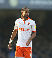 Blackpool's Nathan Delfouneso<br /> <br /> Photographer Rob Newell/CameraSport<br /> <br /> The EFL Sky Bet League One - Southend United v Blackpool - Saturday 17th November 2018 - Roots Hall - Southend<br /> <br /> World Copyright &copy; 2018 CameraSport. All rights reserved. 43 Linden Ave. Countesthorpe. Leicester. England. LE8 5PG - Tel: +44 (0) 116 277 4147 - admin@camerasport.com - www.camerasport.com