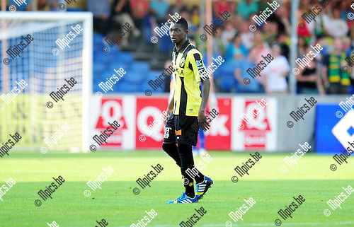 2014-07-26 / Voetbal / seizoen 2014-2015 / SK Lierse - KV Oostende / Hamari Traor&eacute;<br /><br />Foto: mpics.be