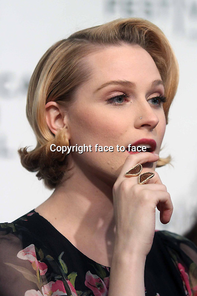 "Evan Rachel Wood attends the world premiere of ""A Case of You"" at The 2013 Tribeca Film Festival at BMCC Tribeca Performing Arts Center in New York, 21.04.2013. ..Credit: Rolf Mueller/face to face"