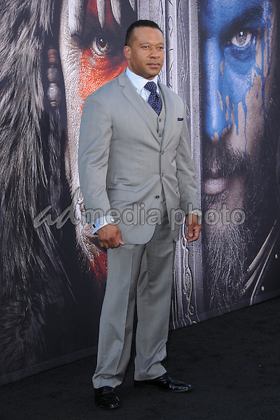 "06 June 2016 - Hollywood, California - Dean Redman. Arrivals for the Premiere Of Legendary Pictures and Universal Pictures' ""Warcraft"" held at the TCL Chinese Theater IMAX. Photo Credit: Birdie Thompson/AdMedia"