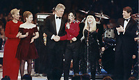 1993 <br /> Hillary Clinton, Chelsea Clinton<br /> Bill Clinton Michael Jackson<br /> Stevie Nicks, Al Gore (r)<br /> Photo By John Barrett-PHOTOlink.net/MediaPunch