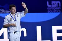 DERVIEUX Sebastien (FRA) Referee  <br /> Budapest 12/01/2020 Duna Arena <br /> SLOVAKIA (white caps) Vs. RUSSIA (blue caps)<br /> XXXIV LEN European Water Polo Championships 2020<br /> Photo  © Andrea Staccioli / Deepbluemedia / Insidefoto