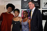 Democratic mayoral candidate Bill de Blasio and His family attends a campaign event in New York August 18, 2013 by Kena Betancur / VIEWpress