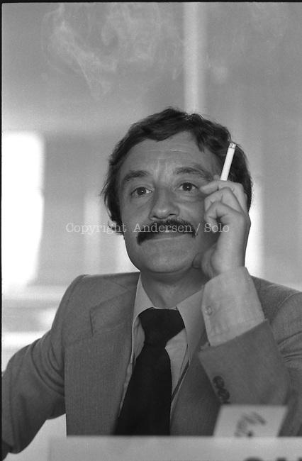 Matthieu Galley, French writer In 1978.