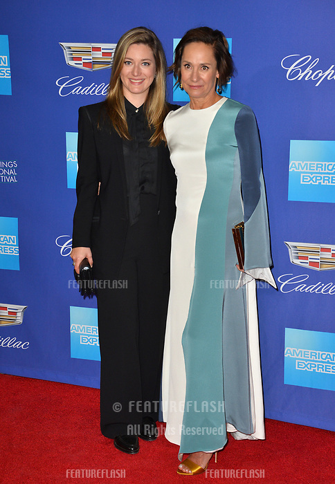 Laurie Metcalf &amp; Zoe Perry at the 2018 Palm Springs Film Festival Awards at Palm Springs Convention Center, USA 02 Jan. 2018<br /> Picture: Paul Smith/Featureflash/SilverHub 0208 004 5359 sales@silverhubmedia.com