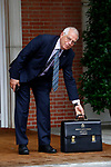 Josep Borrell, Minister of Foreign, EU and Cooperation, arrives at the first Council of Ministers of the new Government of Spain, chaired by Pedro Sanchez. June 8,2018. (ALTERPHOTOS/Acero)