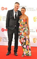 Ol Parker and Thandie Newton at the Virgin TV British Academy (BAFTA) Television Awards 2018, Royal Festival Hall, Belvedere Road, London, England, UK, on Sunday 13 May 2018.<br /> CAP/CAN<br /> &copy;CAN/Capital Pictures