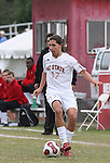 10 November 2007: NC State's Alan Sanchez. The Duke University Blue Devils defeated the North Carolina State University Wolfpack 2-0 at Method Road Soccer Stadium in Raleigh, North Carolina in an Atlantic Coast Conference NCAA Division I Men's Soccer game.