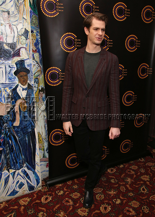 attends the 2018 Outer Critics Circle Theatre Awards at Sardi's on May 24, 2018 in New York City.
