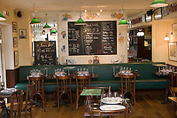 """Europe/France/Bretagne/29/Finistère/ Kerdruc: restaurant """"Le bistrot de l'écailler"""""""