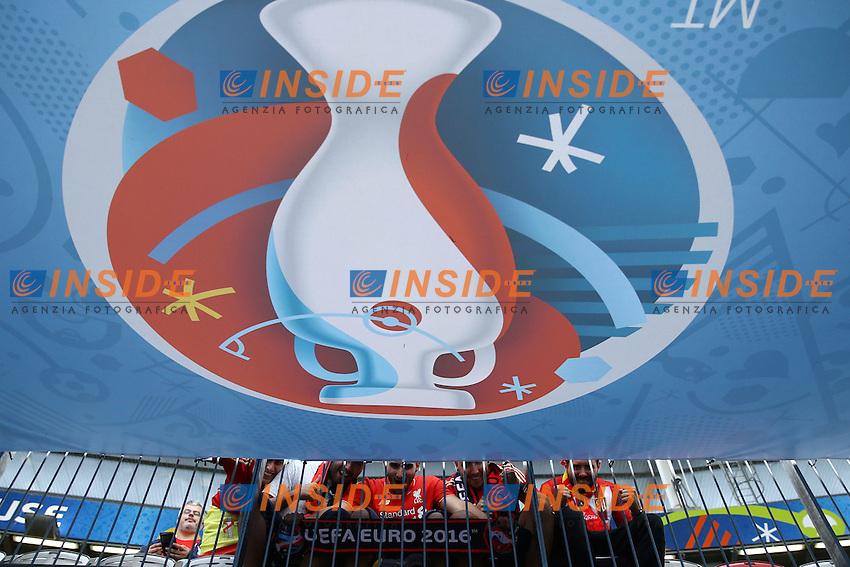 Tifosi Spagna<br /> Toulouse 13-06-2016 Stade Municipal Footballl Euro2016 Spain - Czech Republic  / Spagna - Repubblica Ceca Group Stage Group D. Foto Matteo Ciambelli / Insidefoto