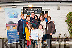 Launch of Stricken Mountain Annual Charity Climb in the Kate Kearney's Cottage, Gap of Dunloe last Thursday where Proceeds will go towards Recovery Heaven. Pictured Front Ava and Leah Casey, Back L-R Sheila O'Connor, Kenneth Reynolds, Joan O'Connor, Joanne Moloney, Mary Moloney, Deila Casey and Joan O'Brien.