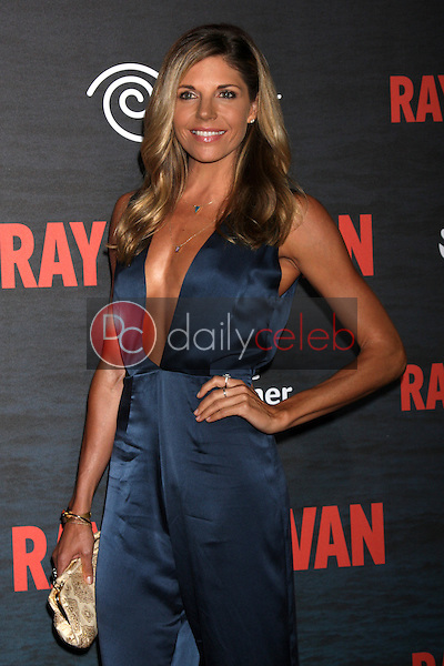 "LOS ANGELES - JUL 9:  Andrea Bogart at the ""Ray Donovan"" Season 2 Premiere Party at the Nobu Malibu on July 9, 2014 in Malibu, CA"