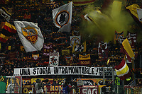 Roma supporters cheer on<br /> Roma 12-01-2020 Stadio Olimpico <br /> Football Serie A 2019/2020 AS Roma - Juventus FC<br /> Photo Cesare Purini / Insidefoto