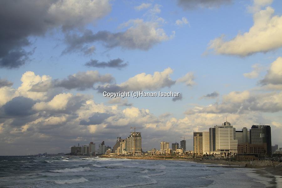 Israel, a view of Tel Aviv from Jaffa