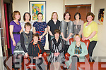 Former staff from the Ross Hotel Killarney who held a reunion in Lord Kenmare's restaurant Killarney on Saturday night front row l-r: Ann McCarthy, Kay Donnelly, Maureen Breen, Eileen Holmes. Back row: Aine Myers, Eleanor O'Doherty, Veronica Stack, Maeve O'Connell, Yvonne O'Brien, Anne Lynch and Christina Lynch..