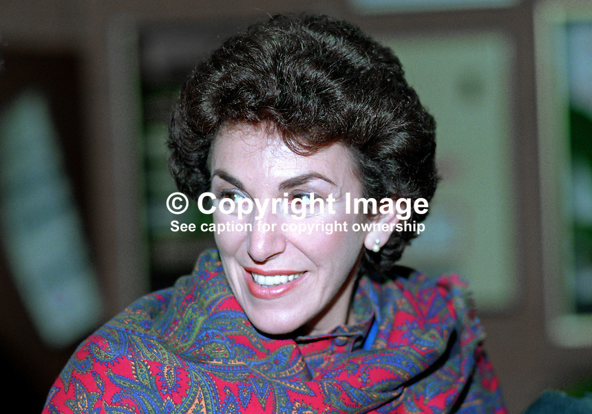 Edwina Currie, MP, politician, Conservative Party, UK, 19901054EC.<br />