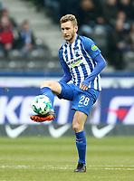 Fabian Lustenberger      <br /> / Sport / Football / DFL 1. Bundesliga Bundesliga  /  2017/2018 / 10.03.2018 / Hertha BSC Berlin vs. SC Freiburg SCF 18031026 /  *** Local Caption *** © pixathlon<br /> Contact: +49-40-22 63 02 60 , info@pixathlon.de