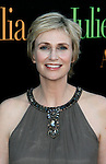 "WESTWOOD, CA. - July 27: Jane Lynch arrives at the Los Angeles screening  of ""Julie & Julia"" at the Mann Village Theatre on July 27, 2009 in Westwood, California."
