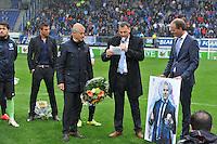 VOETBAL: HEERENVEEN: ABE LENSTRA STADION: 19-10-2013, SC Heerenveen - FC Utrecht, uitslag 4-1, afscheid Henk Herder, ©foto Martin de Jong