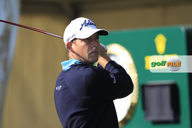 David HOWELL (ENG) tees off the 10th tee during Thursday's Round 2 of the 2015 Commercial Bank Qatar Masters held at Doha Golf Club, Doha, Qatar.: Picture Eoin Clarke, www.golffile.ie: 1/22/2015