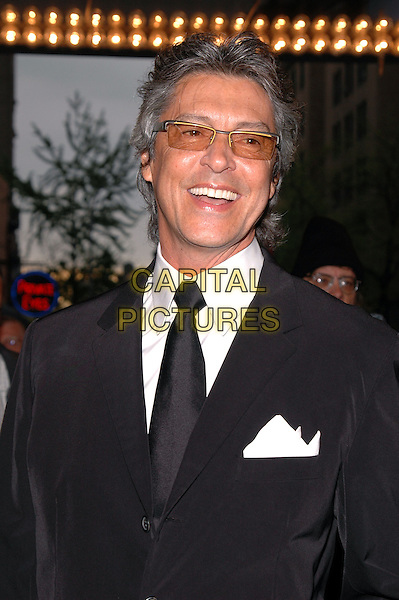 "TOMMY TUNE.The premiere of the musical ""Sweet Charity"" on Broadway. .May 4th, 2005.Photo Credit: Patti Ouderkirk/AdMedia.headshot portrait tinted glasses hankerchief in pocket laughing smiling.www.capitalpictures.com.sales@capitalpictures.com.© Capital Pictures."