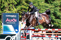NZL-Brayden Aarts rides Binverter during Class 4: DOM HEALTH FMG YOUNG RIDER SERIES AM: 2017 NZL-Showjumping Waitemata World Cup Show, Woodhill Sands, Helensville. Friday 13 January. Copyright Photo: Libby Law Photography