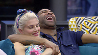 Ashley James and Ginuwine.<br /> Celebrity Big Brother 2018 - Day 10<br /> *Editorial Use Only*<br /> CAP/KFS<br /> Image supplied by Capital Pictures