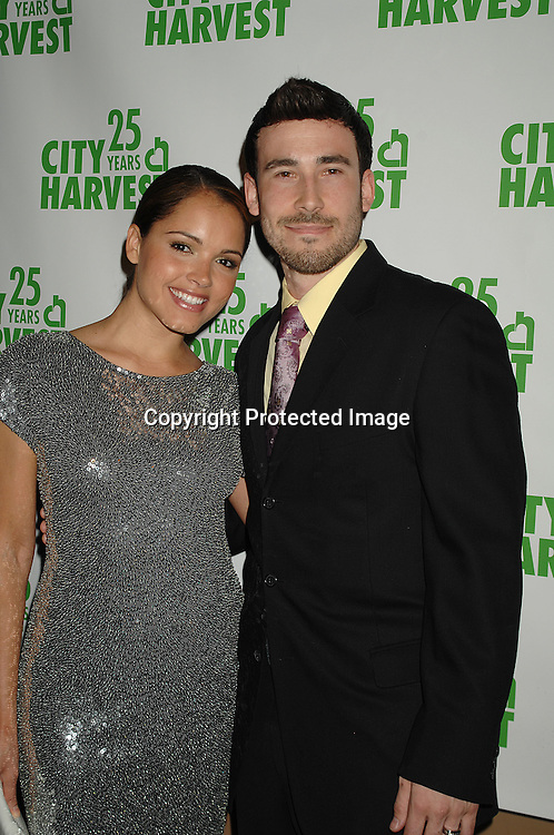 Susie Castillo and husband Matt Leslie..at The City Harvest's 25 Anniversarty Practical Magic Ball on April 18, 2007 at Cipriani42nd Street. ..Robin Platzer, Twin Images