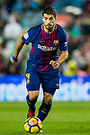 Luis Alberto Suarez Diaz of FC Barcelona in action during the La Liga 2017-18 match between FC Barcelona and Sevilla FC at Camp Nou on November 04 2017 in Barcelona, Spain. Photo by Vicens Gimenez / Power Sport Images