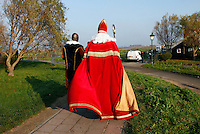 Sinterklaas vertrekt