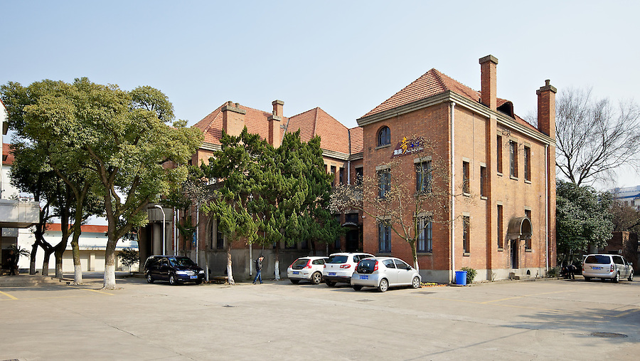Japanese Consulate.  The Main Building In The Consular Complex That Is Now The 'Suzhou No. 1 Silk Factory'.  Suzhou (Soochow).