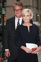 NEW YORK, NY - SEPTEMBER 8: Joe Scarborough, Mika Brzezinski  arriving to the Daily Front Row Fashion Awards at Four Seasons NY Downtown in New York City on September 8,  2017. <br /> CAP/MPI/RW<br /> &copy;RW/MPI/Capital Pictures