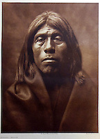 BNPS.co.uk (01202 558833)<br /> Pic: Bloomsbury/BNPS<br /> <br /> Qunia'ika of the Mohave tribe in 1903.<br /> <br /> Lost souls - Poignant archive reveals the lost tribes of North America in beautiful photographs from just over a century ago.<br /> <br /> A remarkable collection of photographs which give an unprecedented insight into the lives of Native Americans at a time when their land was being taken from them have emerged at auction.<br /> <br /> Between 1907 and 1930, US photographer Edward Curtis spent time with more than 80 native tribes across Native America, taking thousands of photographs as part of his groundbreaking The North American Indian project.<br /> <br /> A collection of more than 500 rare Curtis photographs are being auctioned off later this month and are expected to fetch over &pound;300,000.