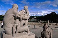 Norwegen, Oslo, Skulpturen von Gustav Vigeland im Vigelandsparken