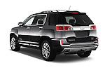Car pictures of rear three quarter view of 2017 GMC Terrain FWD-Denali 5 Door SUV Angular Rear