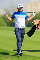 Andy Sullivan (ENG) on the 15th fairway during the 3rd round at the WGC HSBC Champions 2018, Sheshan Golf CLub, Shanghai, China. 27/10/2018.<br /> Picture Fran Caffrey / Golffile.ie<br /> <br /> All photo usage must carry mandatory copyright credit (&copy; Golffile | Fran Caffrey)