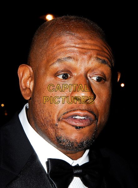 "FOREST WHITAKER.The Times BFI London Film Festival opening night with the screening of ""The Last King Of Scotland"" at the Odeon Leicester Square, London, UK. .October 18th, 2006.Ref: IA.headshot portrait goatee facial hair bow tie funny face.www.capitalpictures.com.sales@capitalpictures.com.©Ian Allis/Capital Pictures"
