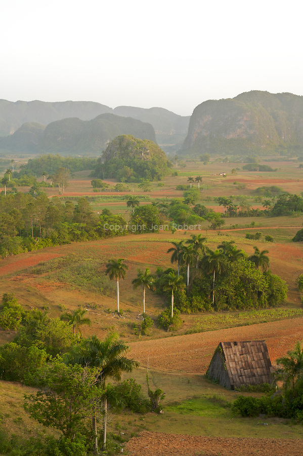 Viñales Valley (Spanish: Valle de Viñales) is a karstic depression in Cuba. The conspicuous cliffs rising like islands from the bottom of the valley are called mogotes..